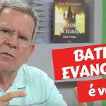 O batismo é válido nas igrejas evangélicas