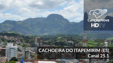 Cachoeira do Itapemirim-ES foi digitalizada e o novo canal digital é 25.1