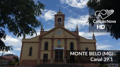 A cidade de Monte Belo-MG recebe o canal digital da TV Canção Nova