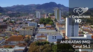 Atenção morador de Andradas/MG, a  TV Canção Nova mudou do analógico para o Digital