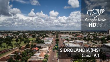Sidrolândia no Mato Grosso do Sul recebe o sinal digital da TV Canção Nova