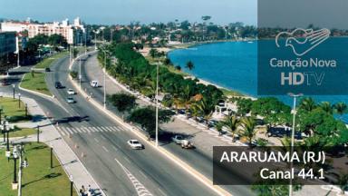 Araruama/RJ recebe o sinal digital da TV Canção Nova