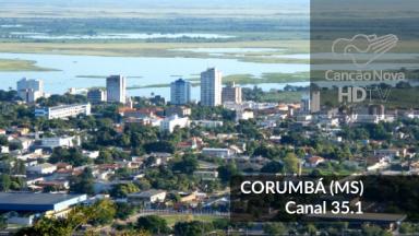 A cobertura da TV Digital chega em Corumbá com o canal digital 35.1