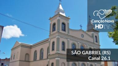 A TV Canção Nova em São Gabriel/RS agora é digital.