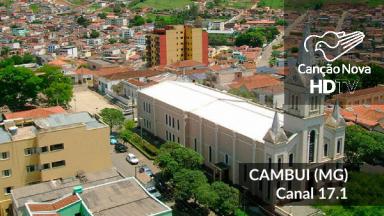 Cambuí/MG recebe o sinal digital da TV Canção Nova