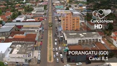 Novo canal digital da TV Canção Nova em Porangatu/GO, sintonize 35.1