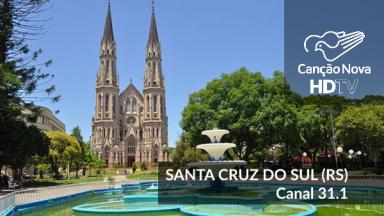 A TV Canção Nova agora é digital em Santa Cruz do Sul