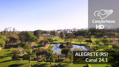 A cidade de Alegrete/RS recebe o sinal digital da TV Canção Nova