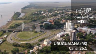 Uruguaiana recebe o canal digital 26.1 da TV Canção Nova