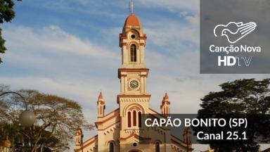 A cidade de Capão Bonito/SP recebe o canal digital 25.1 da TV Canção Nova