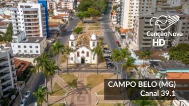 Campo Belo-MG, recebe o sinal digital da TVCN pela sintonia 39.1