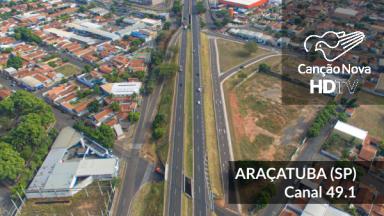 O sinal da TVCN chegou em Araçatuba-SP, sintonize 49.1
