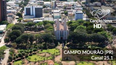 Campo Mourão no estado do Paraná agora é digital com o canal 25.1