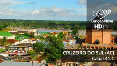 Cruzeiro do Sul/AC agora sintoniza no canal digital 41.1