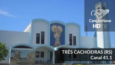 O novo canal da TV Digital em Três Cachoeioras/RS é 41.1
