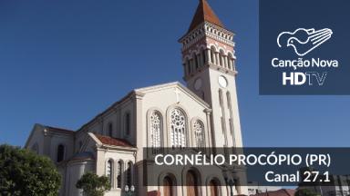 A cidade de Cornélio Procópio agora é digital com o canal da TV Canção Nova