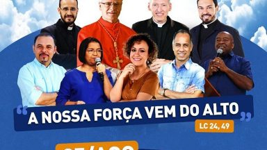 Cardeal Odilo Scherer participa de evento da Canção Nova no Ibirapuera