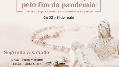 """Santuário do Pai das Misericórdias adere à """"maratona"""" de oração convocada pelo papa"""