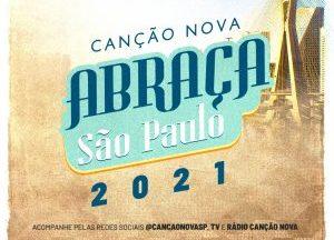 """Frei Gilson e padre Marcelo Rossi participam do """"Canção Nova Abraça São Paulo - 2021"""""""