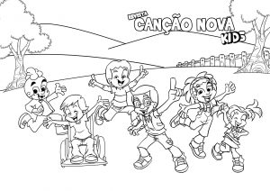 Colorir - Turminha Kids