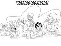colorir super heroi
