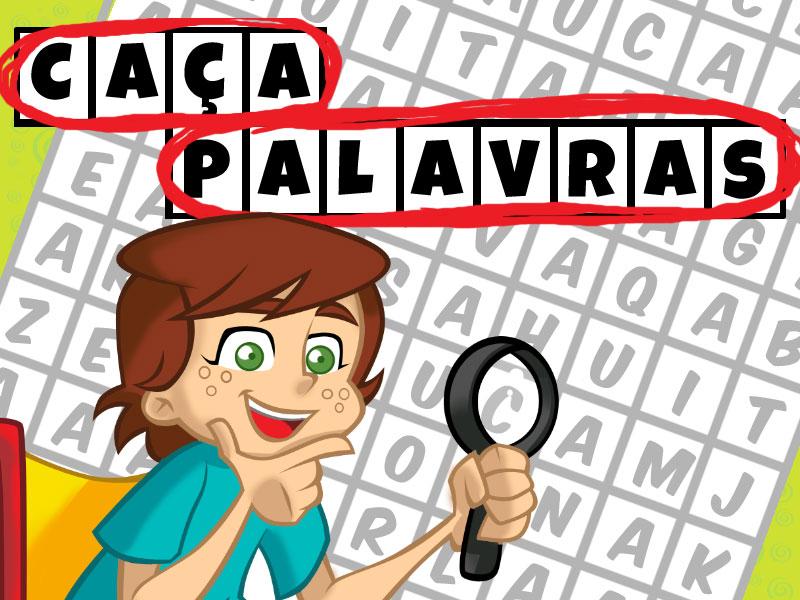 Resultado de imagem para caça palavras para crianças logo