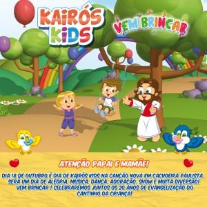 Banner Kairos Kids 2015