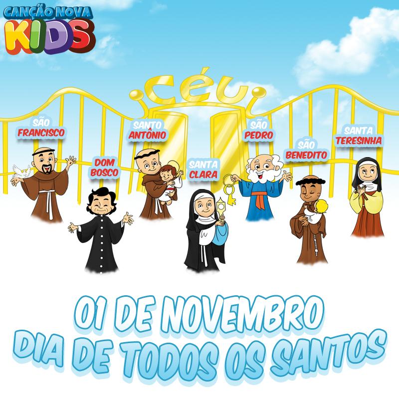 01 de novembro-Dia de todos os santos