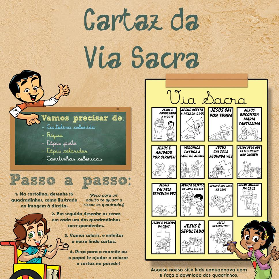 cartaz via sacra