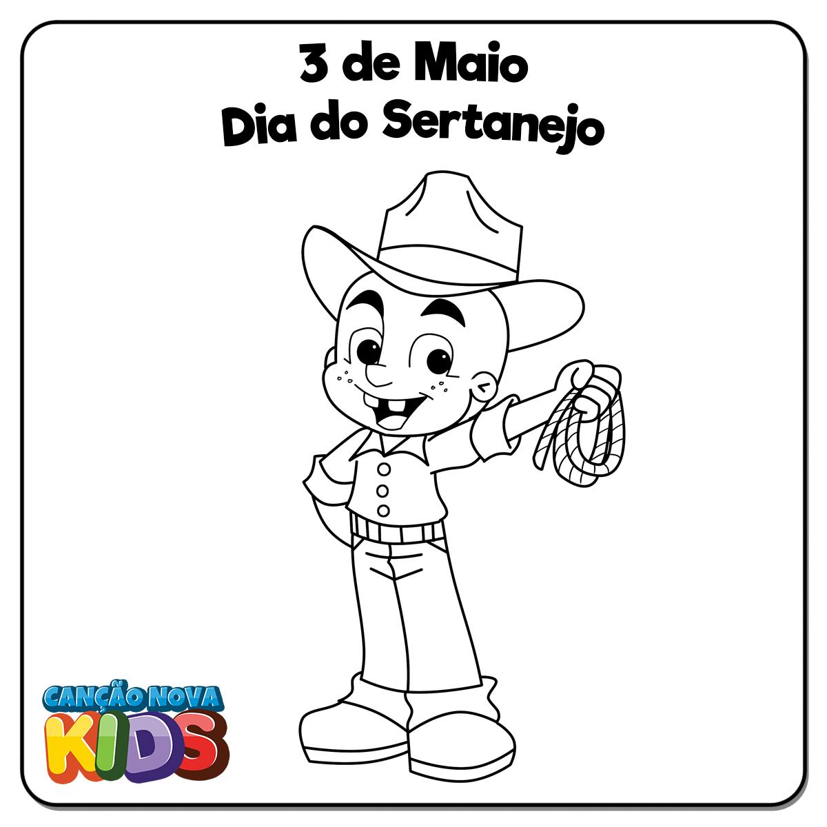 3-de-Maio---Dia-do-Sertanejo-(Colorir)