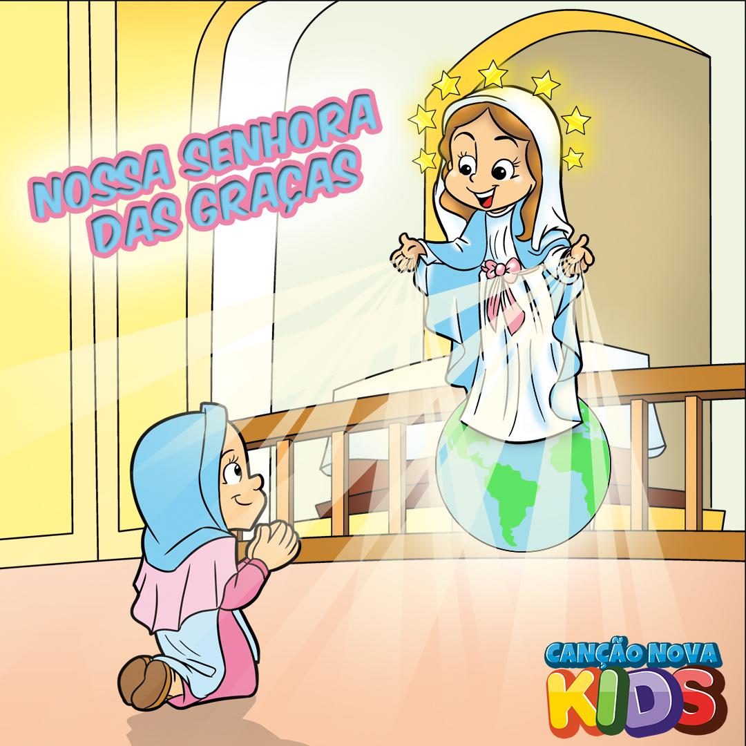 Nossa Senhora Das Gracas Cancao Nova Kids