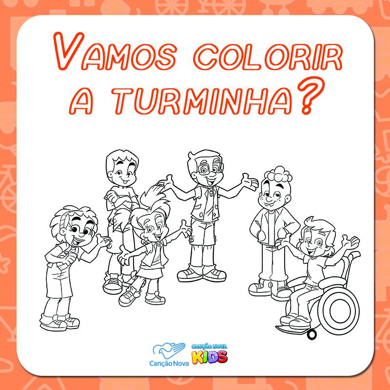 03-03 Colorir da Turminha