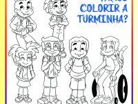 30-03 Colorir da Turminha