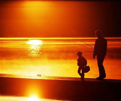 Jesus, eu e ele o meu pai.