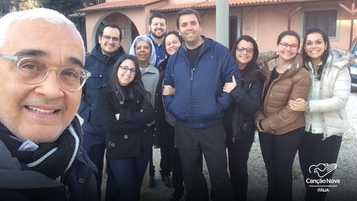 Membros da Canção Nova - Roma (Itália)