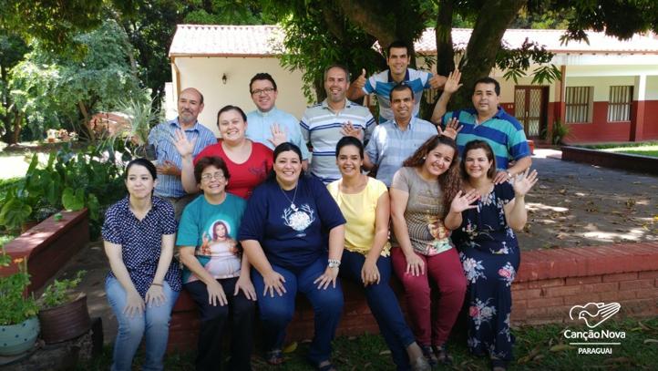 Membros do Segundo Elo - Canção Nova - Paraguai