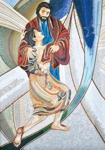 mosaico - Ano da Misericórdia