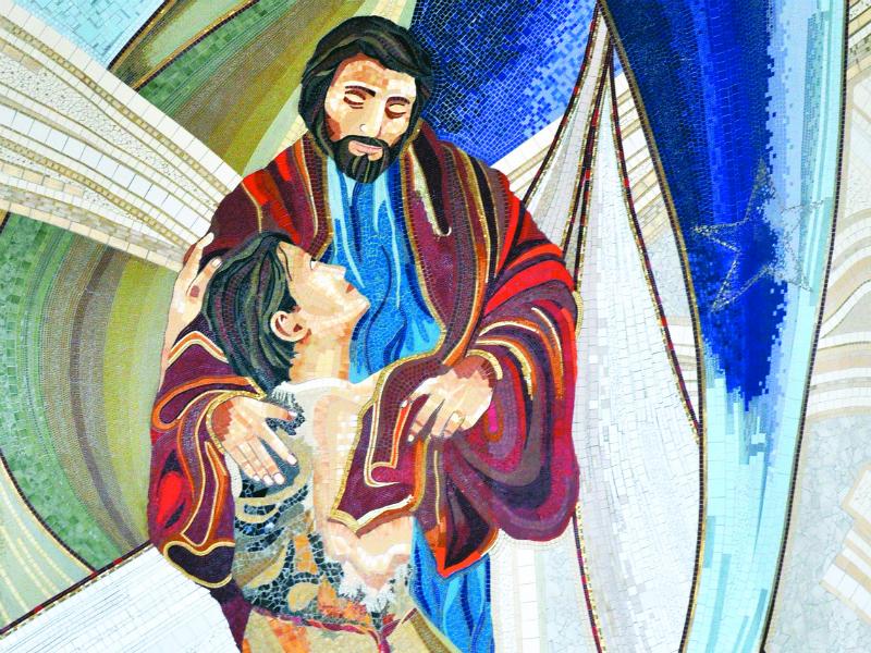 Mosaico do Santuário do Pai das Misericórdias