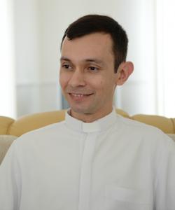 Padre Márcio do Prado - vice reitor do Santuário do Pai das Misericórdias