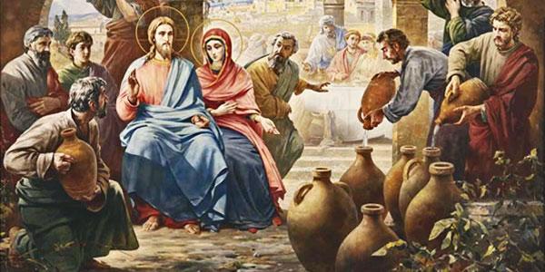 O primeiro milagre de Jesus nas Bodas de Caná
