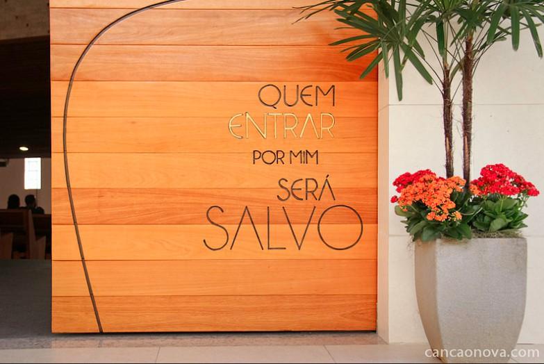 Porta da Misericórdia no Santuário do Pai das Misericórdias Foto: Daniel Mafra/cancaonova.com