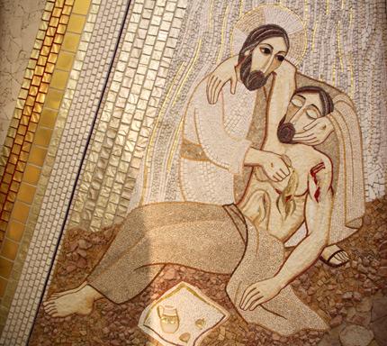 """""""El Buen Samaritano"""" Capilla del Santísimo de la Catedral de Santa María la Real de la Almudena Madrid - España"""