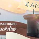 O Santuário do Pai das Misericórdias está em festa