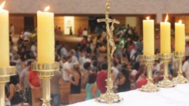 Missa para os enfermos no Santuário do Pai das Misericórdias