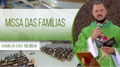 Santa Missa das famílias - Padre Uélisson Pereira (15/06/2020)