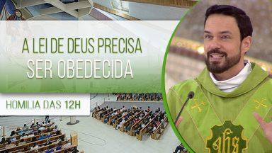 A lei de Deus precisa ser obedecida - Padre Adriano Zandoná (10/06/2020)