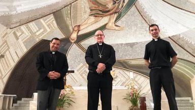 Dom Adair visita o Santuário do Pai das Misericórdias
