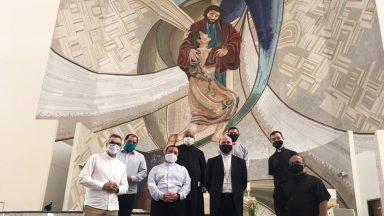 Santuário recebe visita de Bispo da Diocese de Foz do Iguaçu