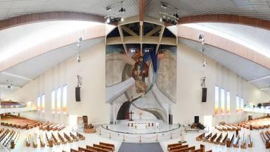 Santuário do Pai das Misericórdias reabre no dia 16 de agosto