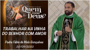 Trabalhar na vinha do Senhor com amor - Padre Fábio de Melo Gonçalves (20/09/2020)
